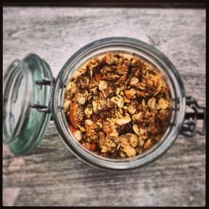 Honey & Almond Granola