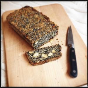 Seed, nut & oat bread