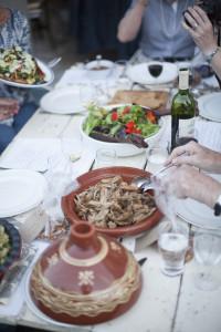 Bare Food pork and salad
